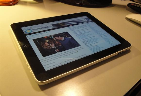 El iPad en Que la pases lindo! :)