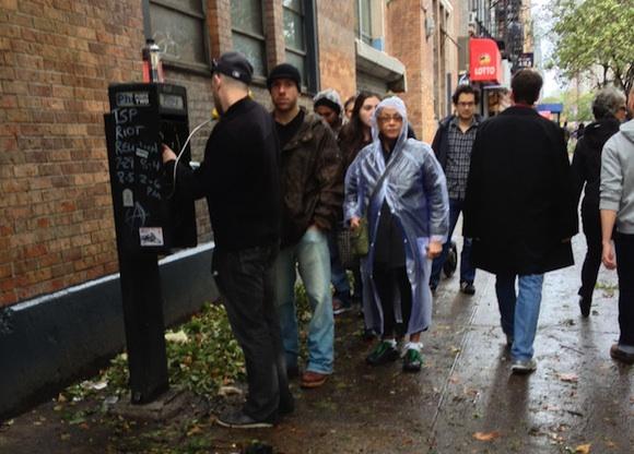 Telefono publico en Nueva York