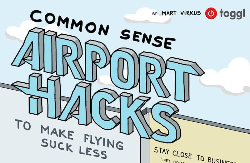 Trucos para viajar mejor: hacks de aeropuerto