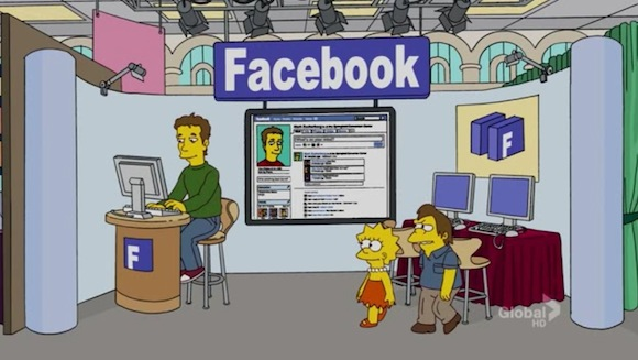 Mark Zuckerberg en Los Simpson