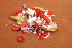 Acociles empanada