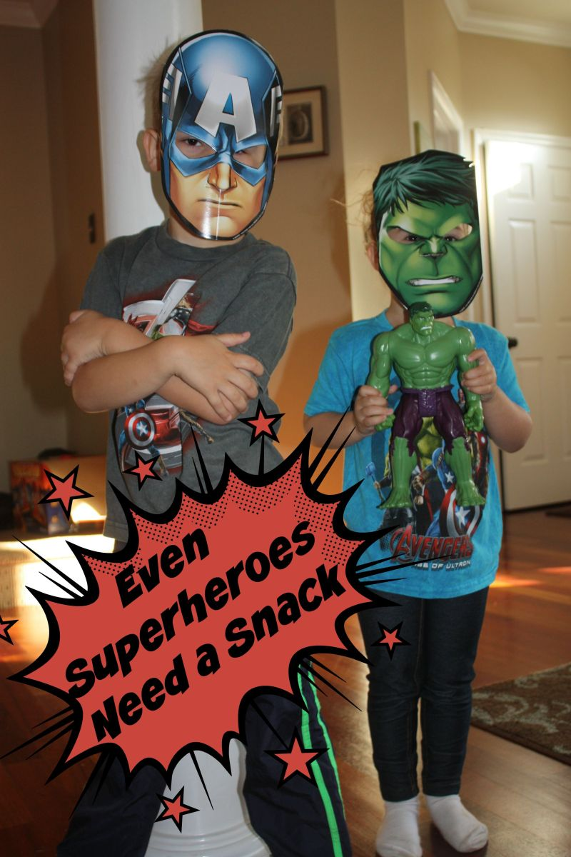 Even Superheroes Need a Snack
