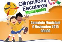 Olimpiadas Escolares de las Instituciones Municipales