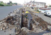 Alcantarillado evitará afectación de viviendas  por lluvias en calle Octava de la parroquia 7 de Octubre
