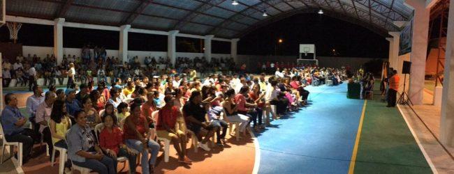 Inauguran remodelación integral  del coliseo de deportes en parroquia La Esperanza