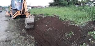 Municipio construye un circuito de aceras en la parroquia San Carlos