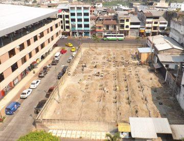 Avanza la construcción de la bahía municipal