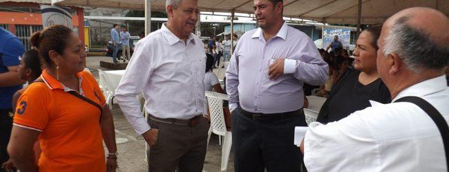 Clínica Móvil del Municipio de Quevedo inició atención médica en Santa María, parroquia San Camilo