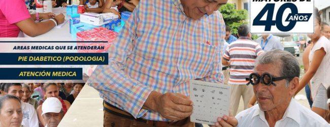La entrega gratuita de lentes de lectura se hará este martes en la ciudadela Santa Rosa