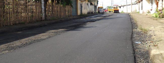 Asfaltado empezó en la parroquia urbana Siete de Octubre