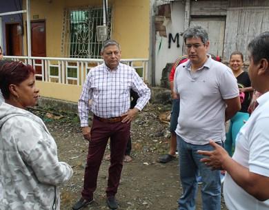 En parroquia Viva Alfaro, sector Camal Viejo será beneficiada con más obras