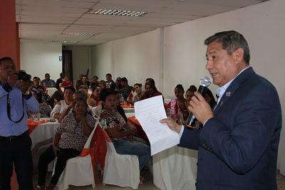 Alcalde Jorge Domínguez destaca la ejecución de obras en la parroquia 24 de Mayo