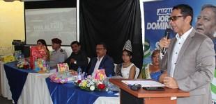 Vicealcalde Humberto Alvarado destaca la inversión  en obras realizada por el Municipio en la Viva Alfaro