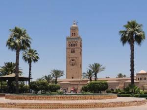 Mosquée de la Koutoubia, la plus belle et la plus grande de Marrakech