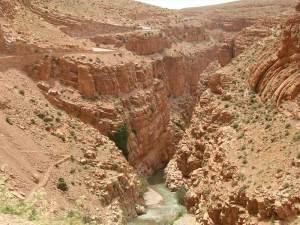 Les Gorges du Dadès près de Ouarzazate