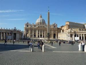 La Place Saint Pierre de Rome