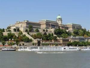 Le Château de Buda dominant le Danube