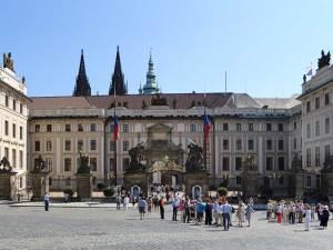 La Porte Matthias, entrée principale du Château de Prague