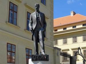 Le Monument à Tomáš Masaryk, premier Président de la République Tchèque