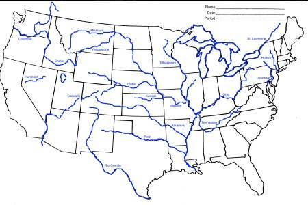 great plains rivers map images & pictures becuo