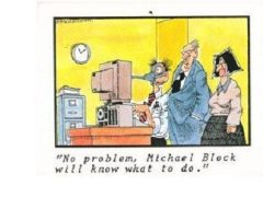 No Problem, Mike Block Will Know What To Do, QuickBooks, Tax, Computers