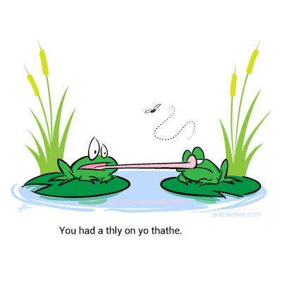 Froggy Faux Pas
