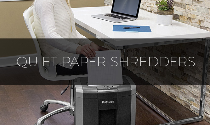Best quiet paper shredders 2016 reviews buyers guide for Best home office shredder reviews