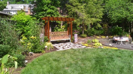 garden arbor, functionality of landscape design