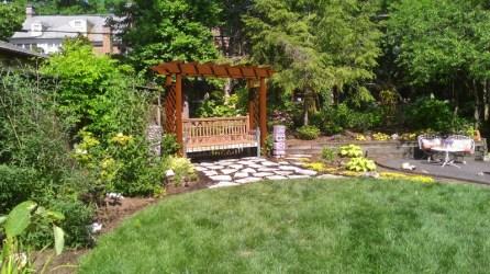 garden arbor, functionality of landscape design
