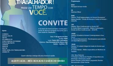 Convite Agosto Azul