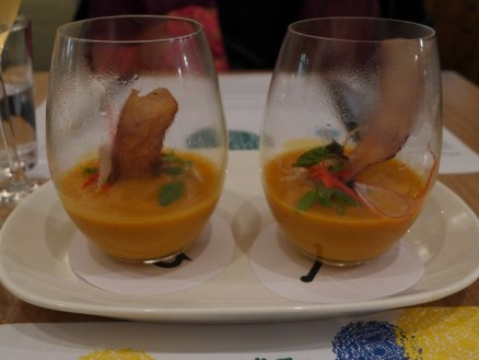 sweet potato carrot and coconut soup