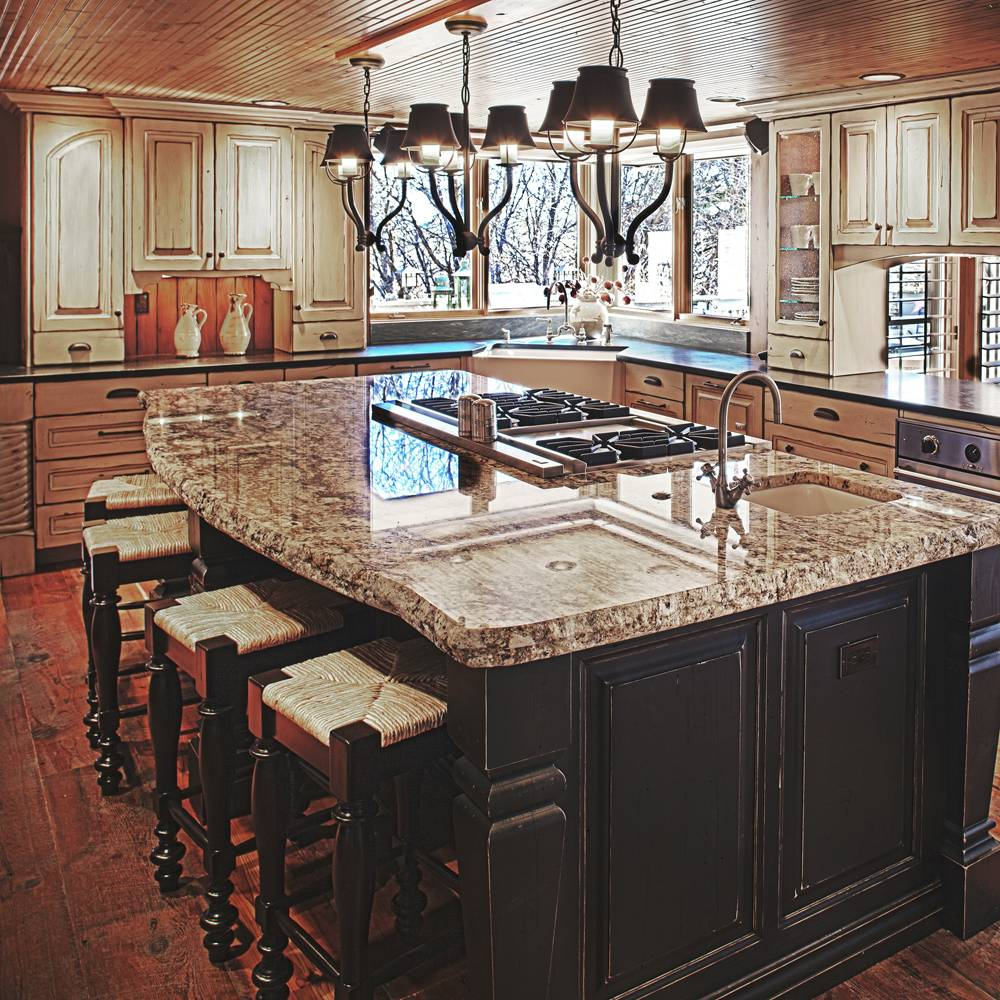kitchen island design ideas kitchen island designs expansive marble island with stove top and sink kitchen island designs quinju com