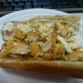 Spicy Tilapia and Truffle Goat Cheese Sub