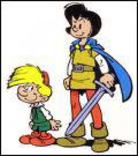 Qui sont ces deux héros de Peyo ?