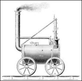 Dans quel pays la locomotive à vapeur fut-elle inventée ?
