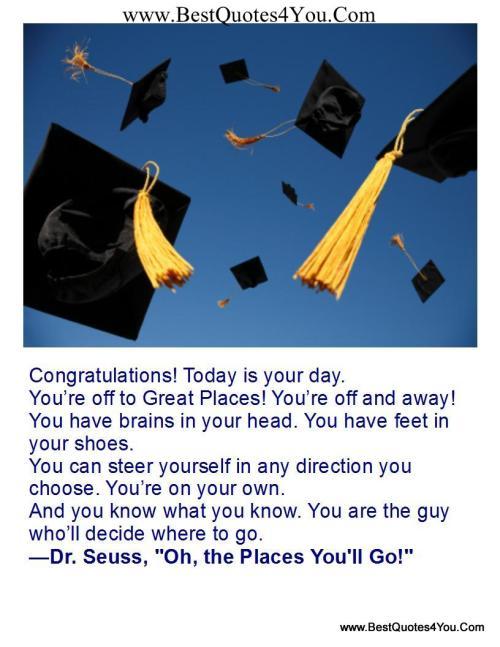 Medium Of College Graduation Quotes
