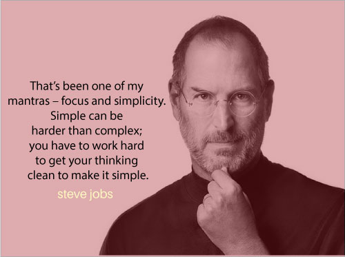 Steve Jobs Quotes On Simplicity. QuotesGram