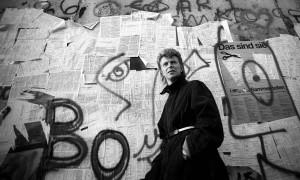 David Bowie at the Berlin Wall, 1987