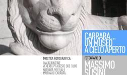 """Inaugurazione della mostra fotografica: """"Carrara ... Un museo a cielo aperto"""" all'Autorità Portuale"""