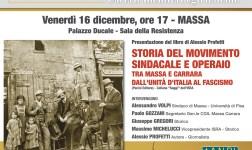 Storia del movimento sindacale: Venerdì la presentazione del libro di Alessio Profetti