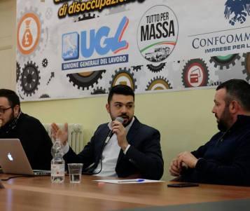MASSA - Mangiaracina (TPM) parla di lavoro con UGL e Confcommercio
