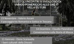 MARINA DI MASSA - Conversazione a Villa Cuturi sul Giorno della Memoria