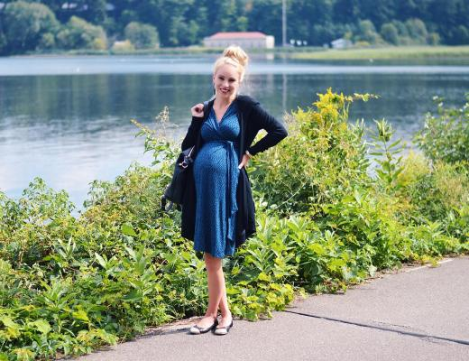 A Fall Wardrobe Staple For Before And After The Bump by Rachael Burgess