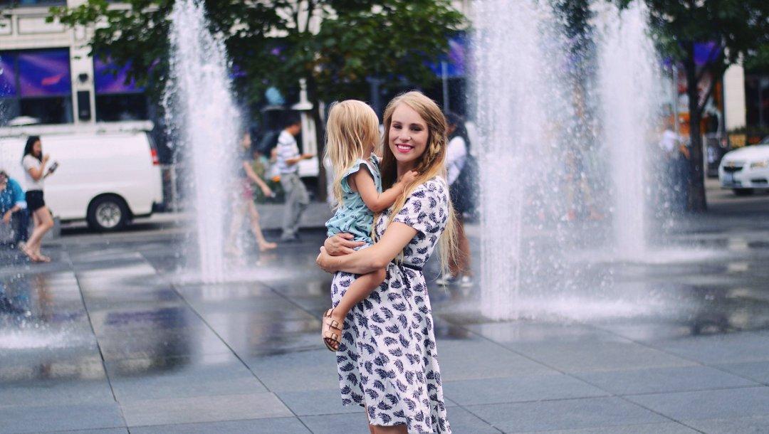 Family trip to Toronto by Rachael Burgess