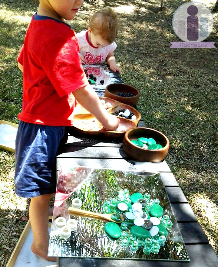 loose parts play reggio inspired