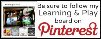 Learning and Play Pinterest Board