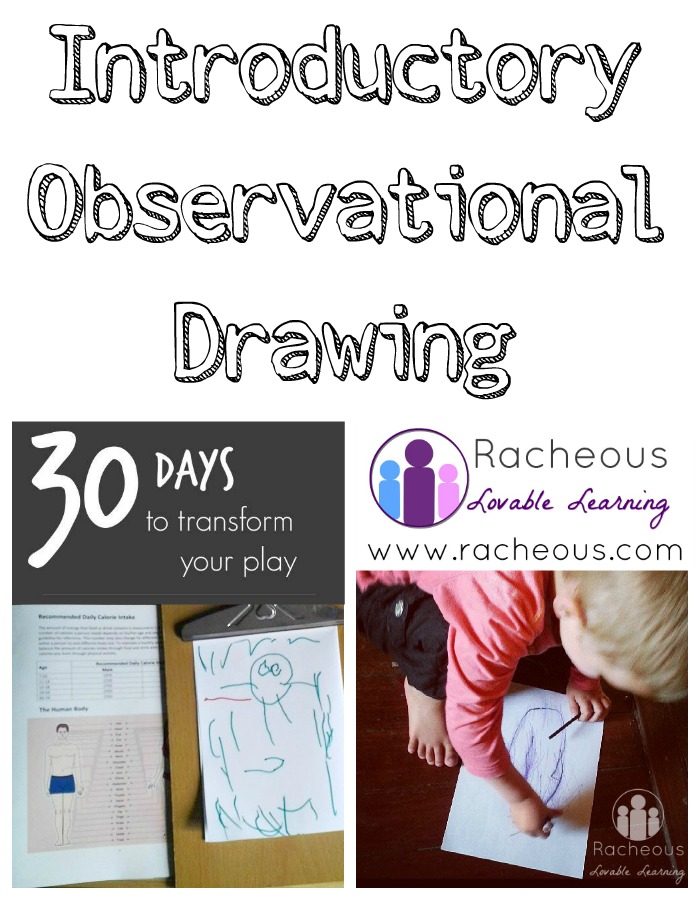 introductory observational drawing