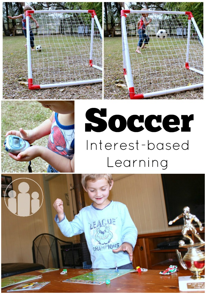 Soccer Interest-based Learning | Racheous