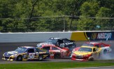 2012_Pocono_June_NASCAR_Sprint_Cup_Series_Race_Truex_Cassill_Johnson_Allmendinger_Reutimann