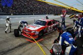 2012 Martinsville2 Brian Vickers Pits